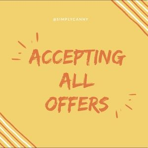 Other - Accepting all reasonable offers🌼